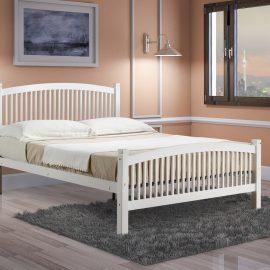 Carla bed white