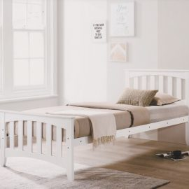 Carina 3' White Bed (2)