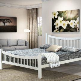 Jordan White Bed